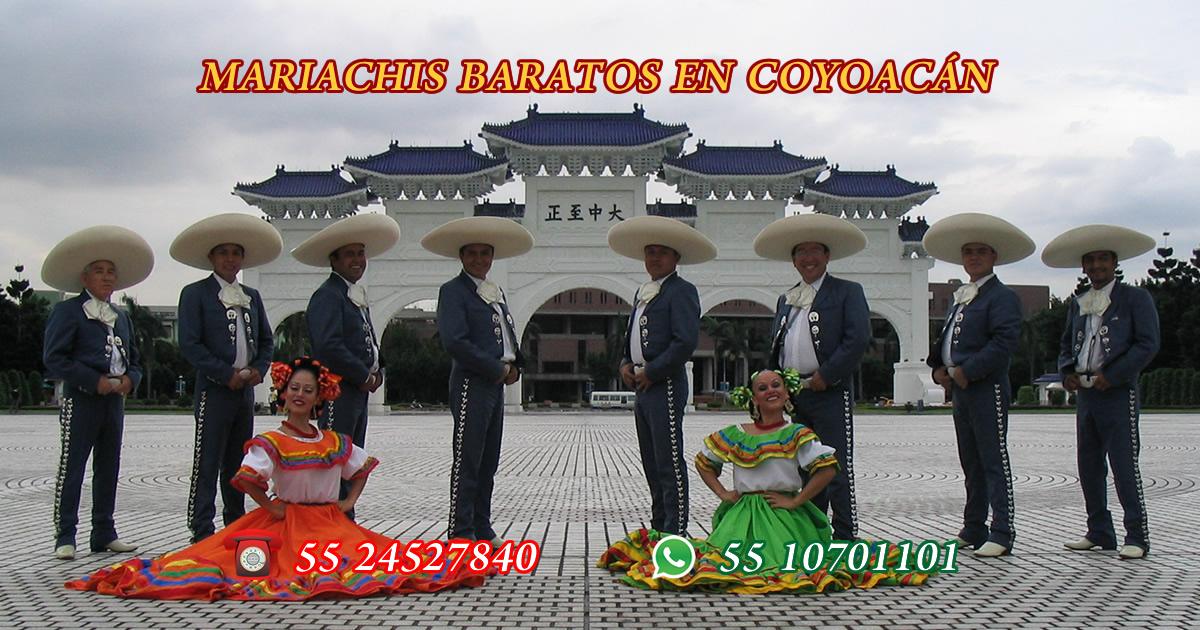 mariachis baratos en coyoacan