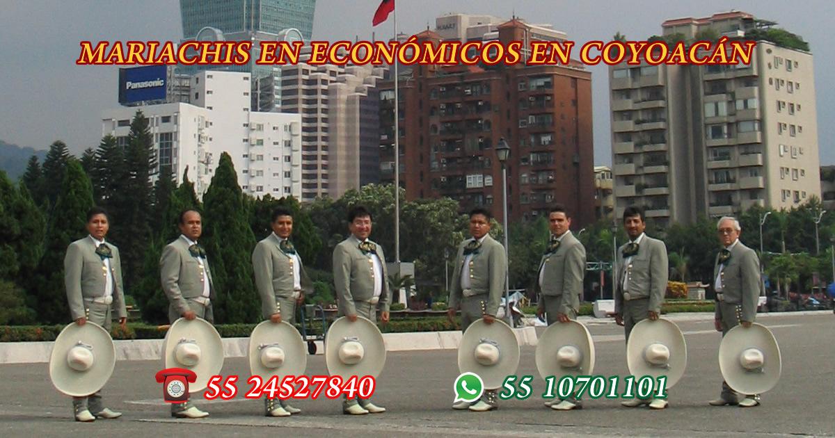 mariachis economicos en coyoacan