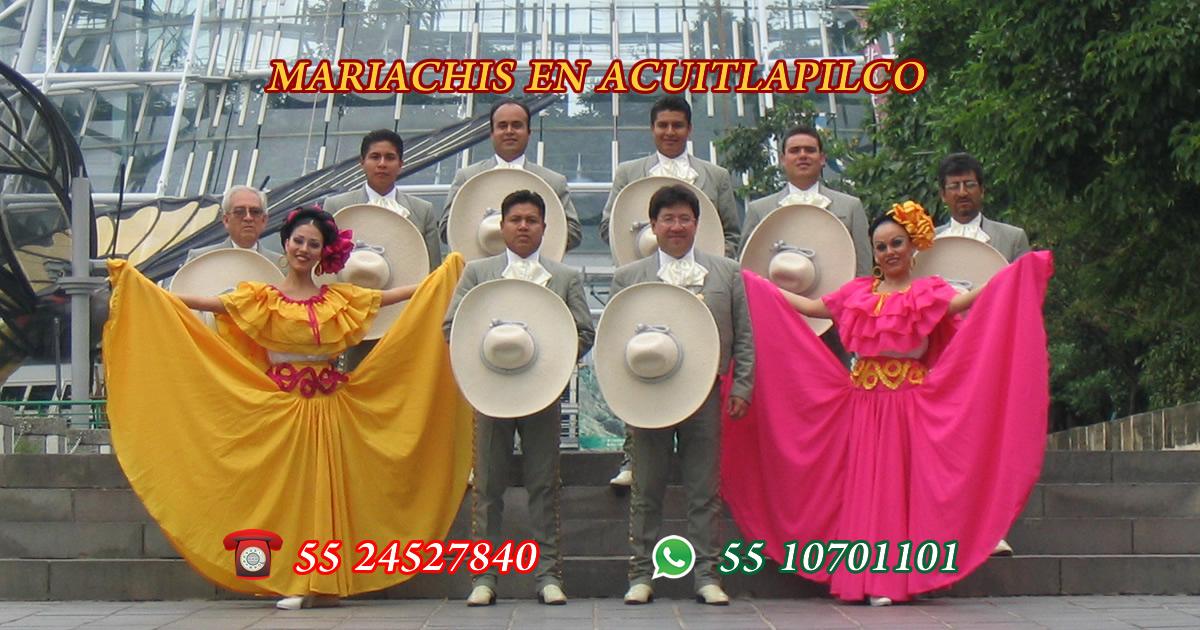 Mariachis en Acuitlapilco