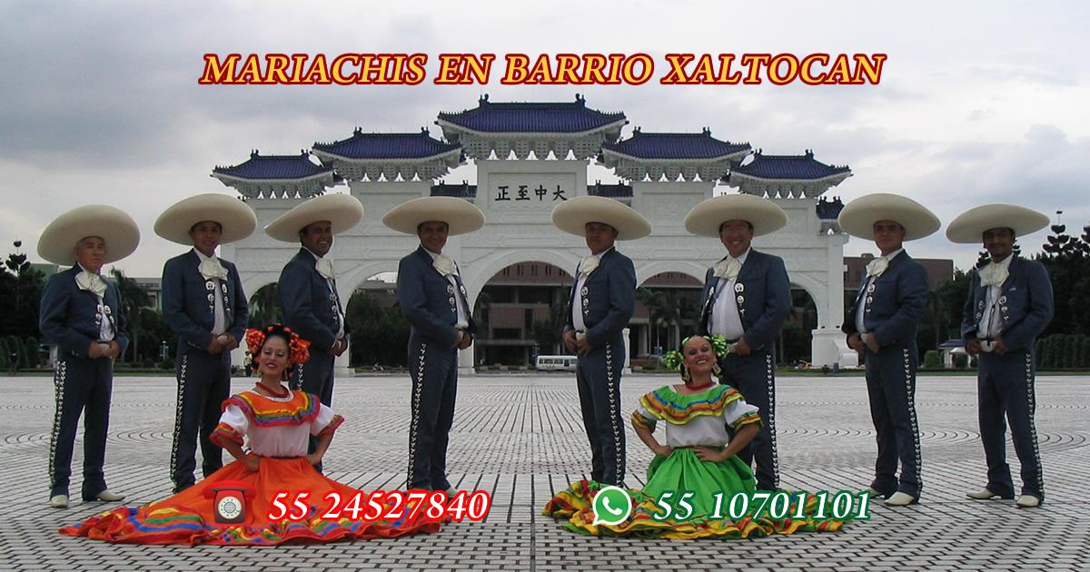 Mariachis en Barrio Xaltocan