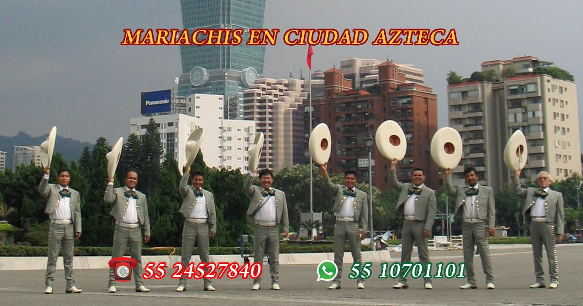Mariachis en Ciudad Azteca