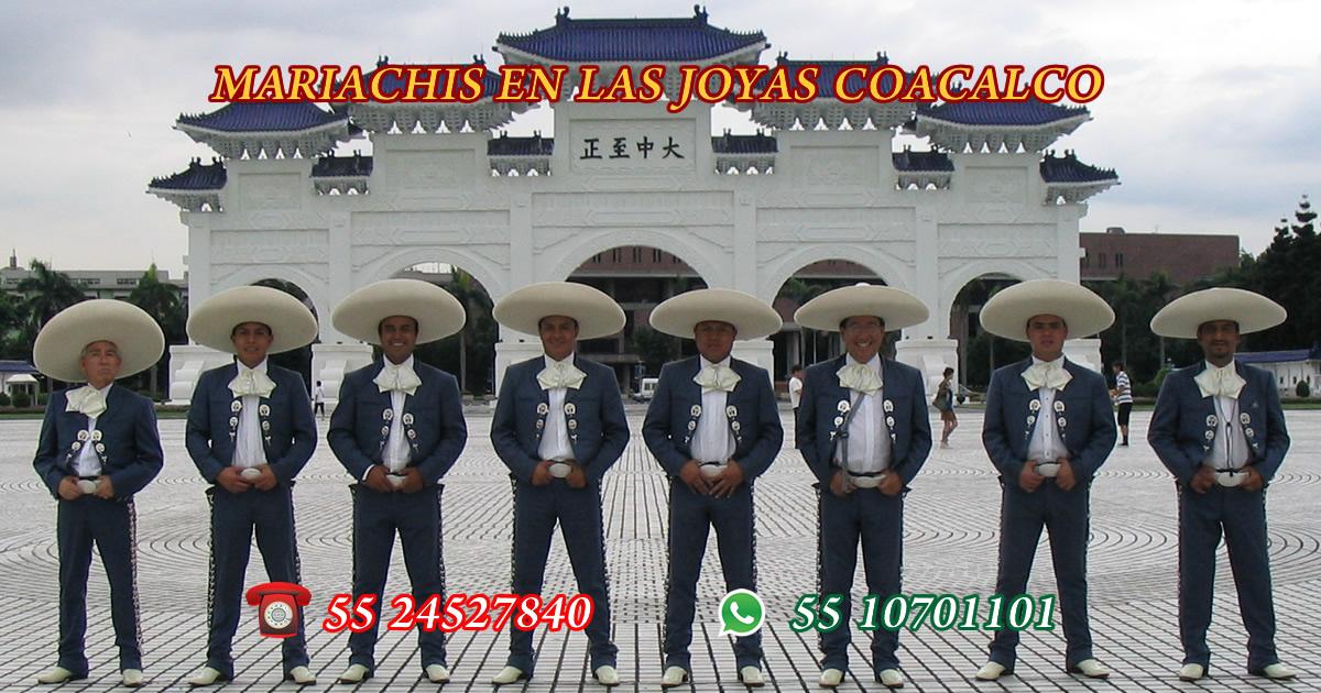 Mariachis en Las Joyas Coacalco
