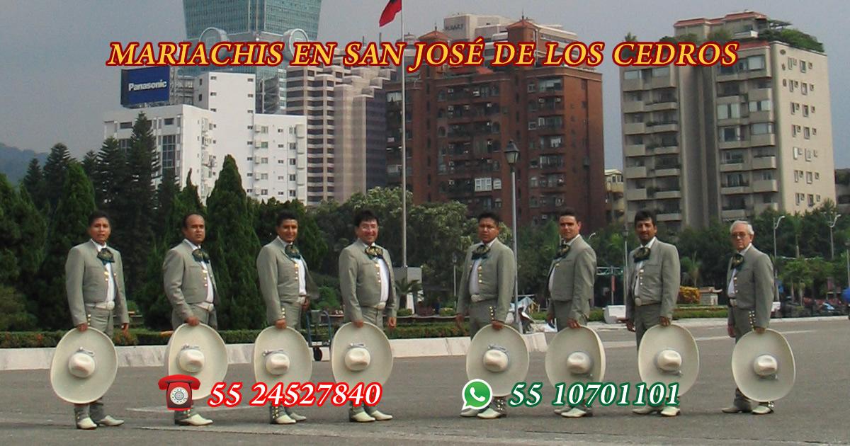Mariachis en San José de los Cedros