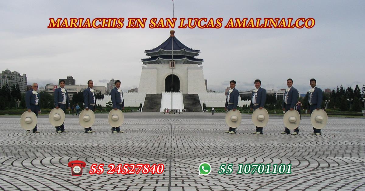 Mariachis en San Lucas Amalinalco