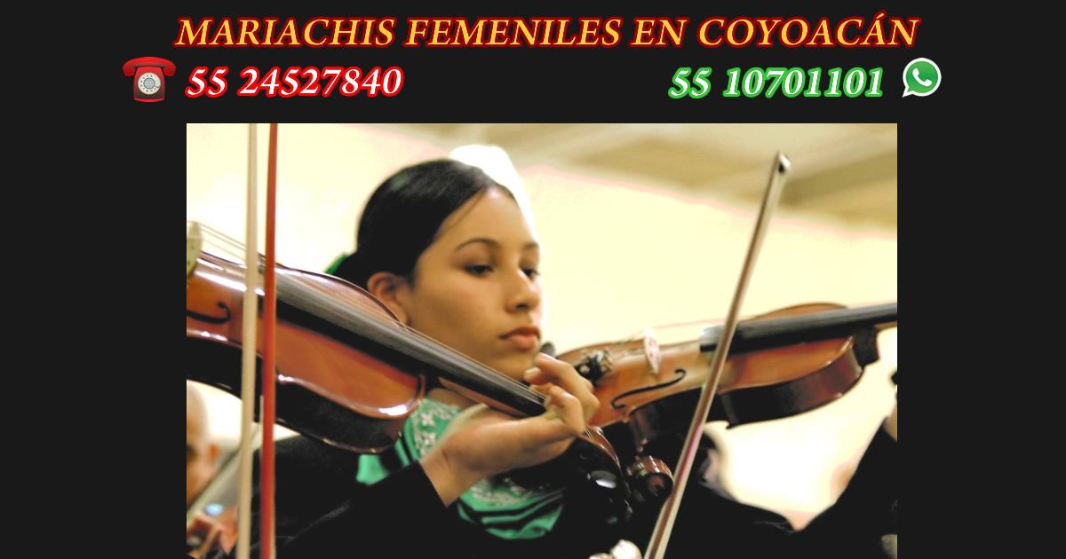 mariachis femeniles en coyoacan