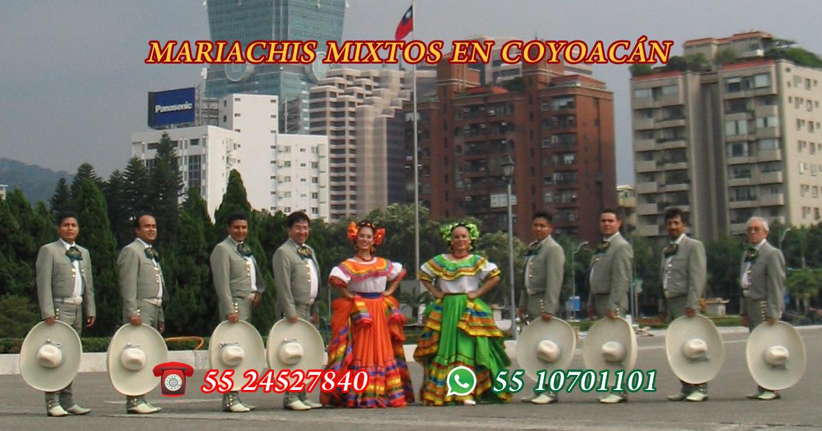 mariachis mixtos en coyoacan