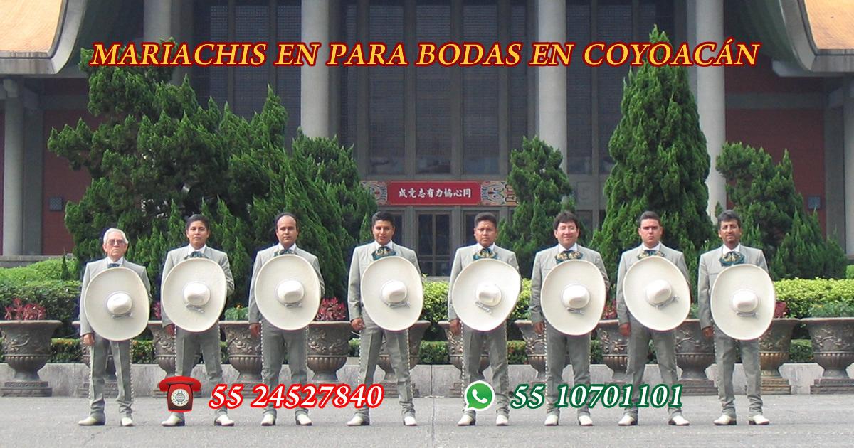 mariachis para bodas en coyoacan