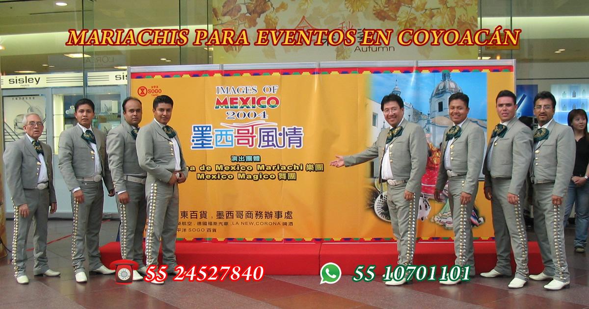 mariachis para eventos en coyoacan