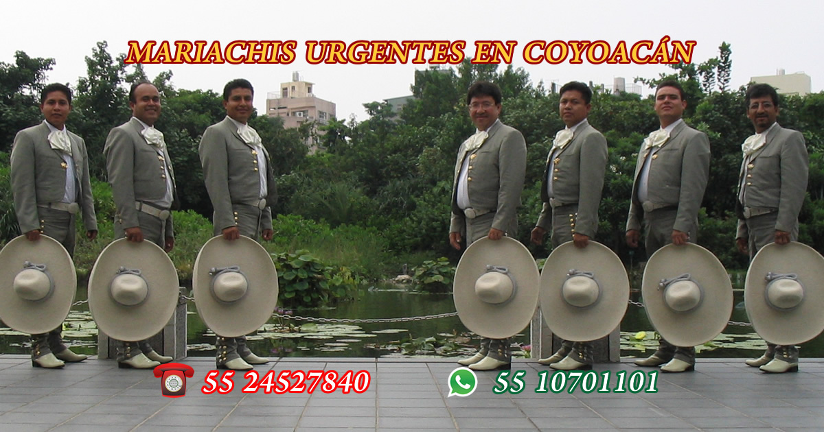 mariachis urgentes en coyoacan