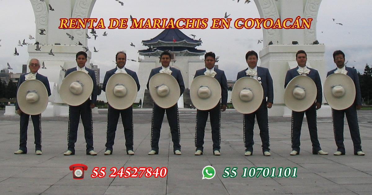 renta de mariachis en coyoacan
